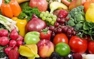Цветные овощи