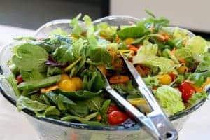 Салат из здоровых овощей