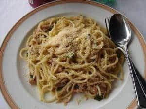 спагетти аль тоно