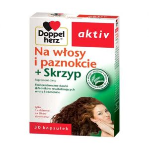 Doppelherz Activ Волосы и ногти + хвощ