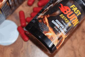 упаковка и капсулы Fast Burn Extreme