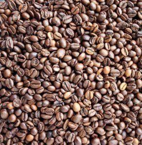 жареные кофейные зёрна