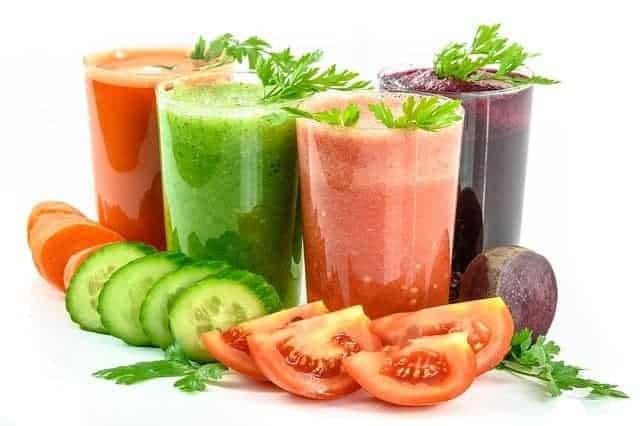 Овощные коктейли и овощи