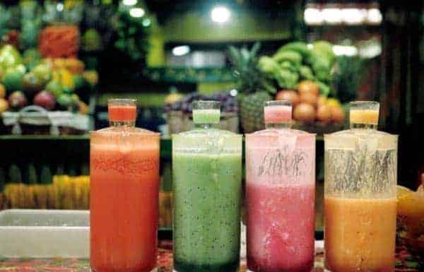 Овощные коктейли во флаконах