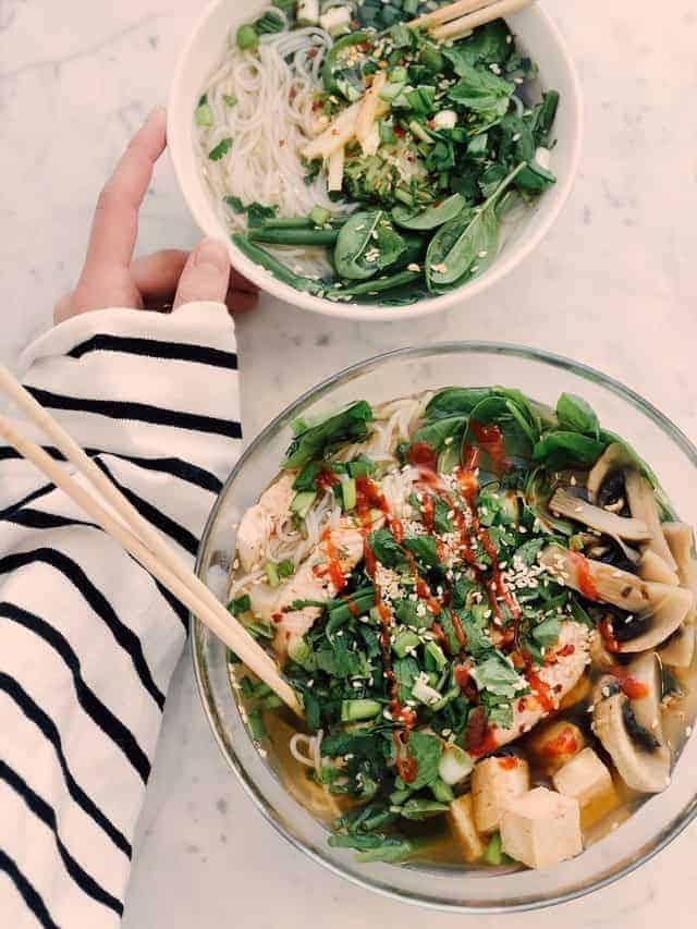 Салаты из здоровых овощей