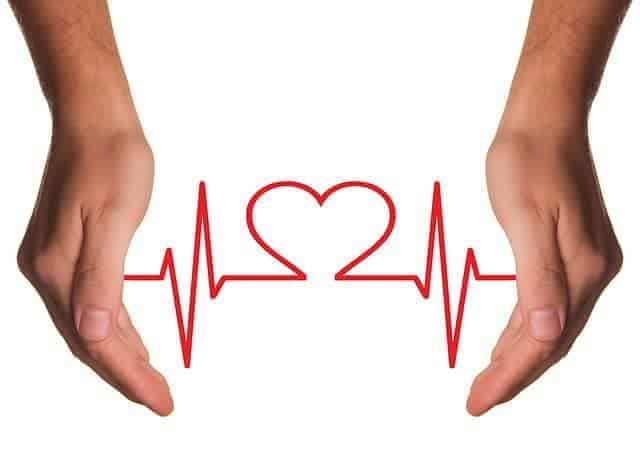 Рисунок EKG между руками