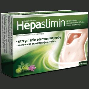 Hepaslimin таблетки для поддержания здорового состояния печени