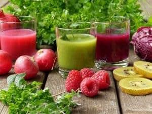 Овощные и фруктовые коктейли
