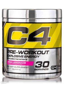 Cellucor C4 Original Подготовка к тренировкам