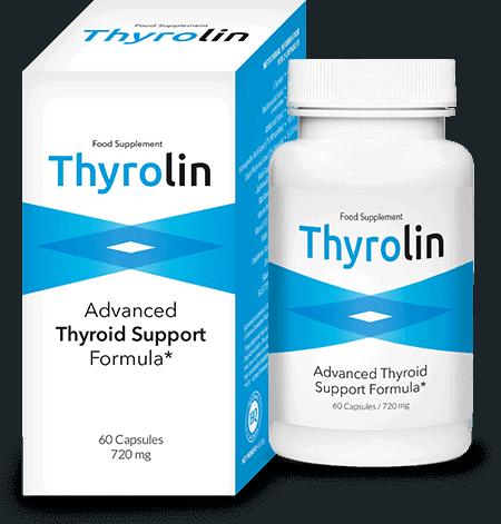 Капсулы поддержки щитовидной железы Thyrolin