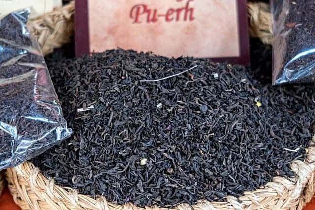 красный чай Pu-erh