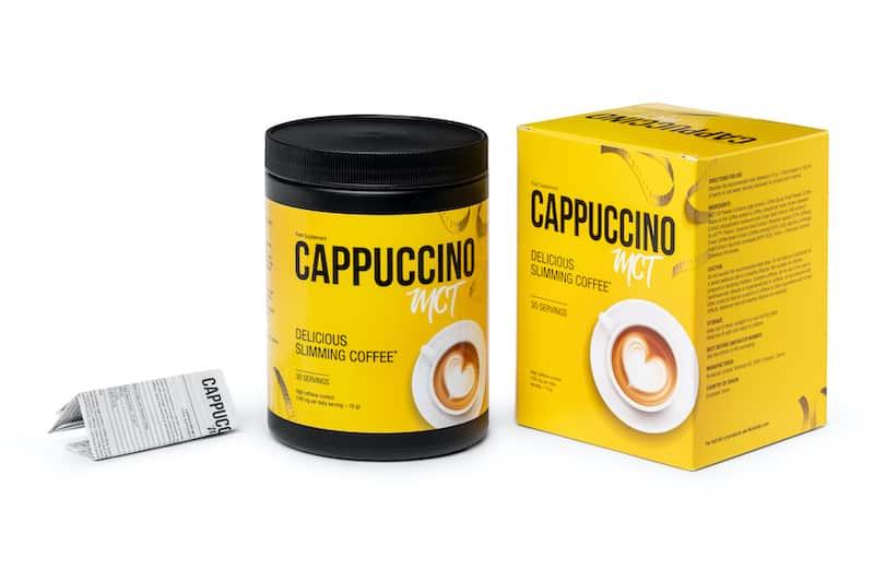 Кофе для похудения Cappuccino Mct.