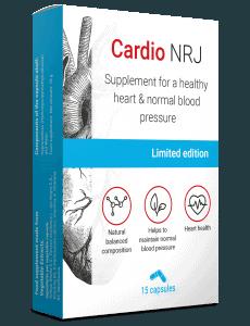 Продукт высокого артериального давления Cardio NRJ