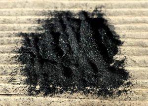 Активированный угольный порошок