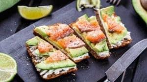 здоровые бутерброды