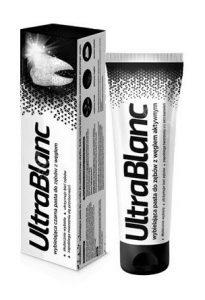 Черная зубная паста Ultrablanc с древесным углем